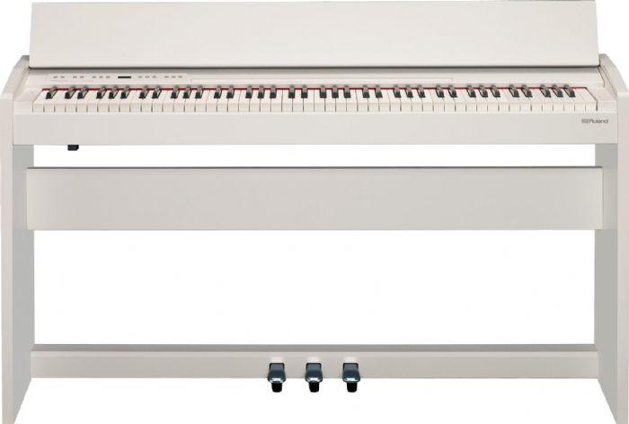 פסנתר דיגיטלי לבן ROLAND F-140R WHL WHITE