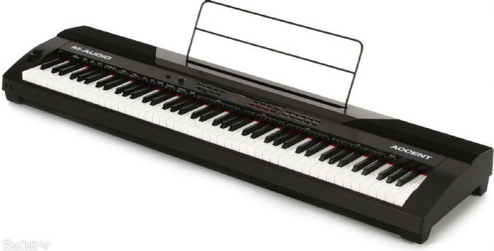 פסנתר חשמלי M-AUDIO ACCENT