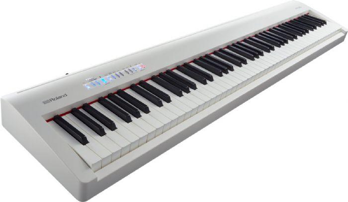 פסנתר דיגיטלי FP-30WH צבע לבן ROLAND