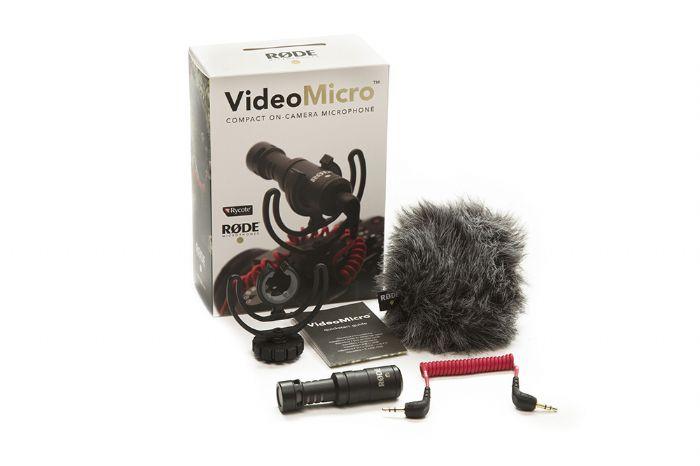 VIDEO MICRO RODE מיקרופון זעיר למצלמה