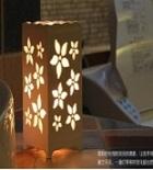 מנורת לילה מעוצבת.