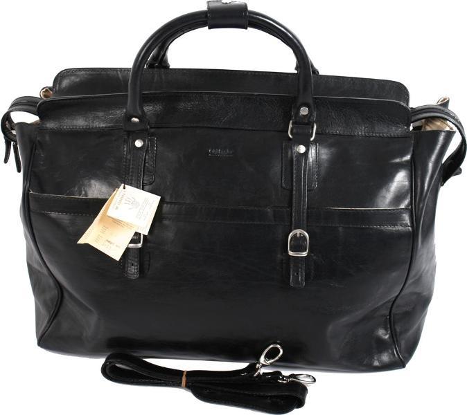 תיק נסיעות אישי עור ברידג' דגם 014 שחור