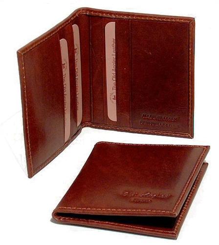 ארנק עור ברידג` לכרטיסי אשראי קטן 5007