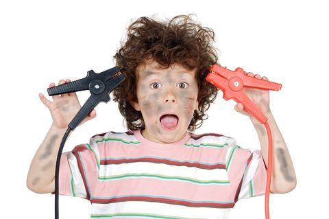 ילד שובב והיפראקטיבי עם הפרעת קשב