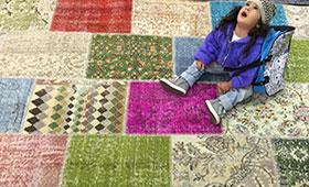 שטיח מודרני לסלון