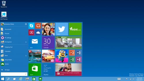 תיאור: windows 10