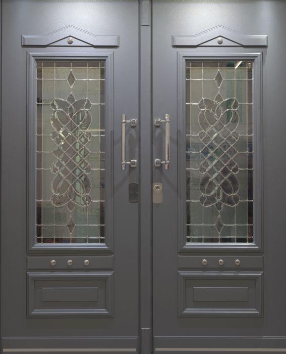 דלת כניסה 2 חלקים פרימיום