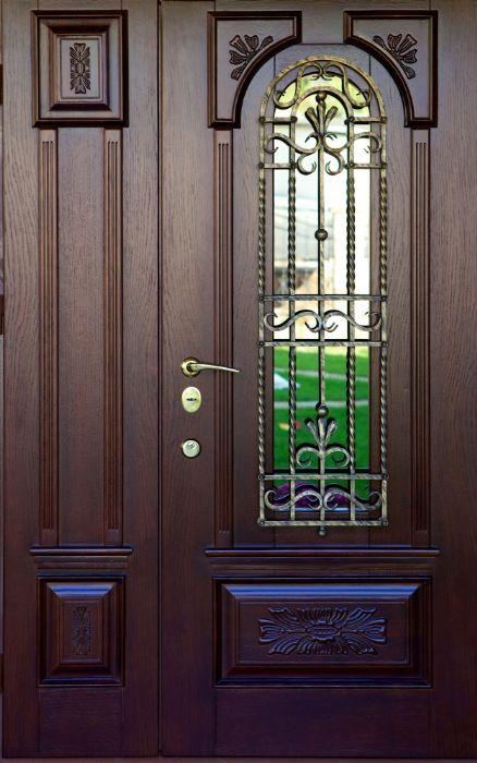 דלת כניסה 2 חלקים לקצורי