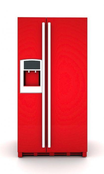 מגנטפט למקרר אדום