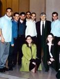עם נשיא בית המשפט העליון, אהרון ברק