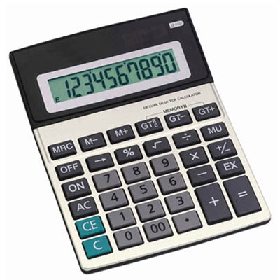BZ2186 - מחשבון שולחני סולארי