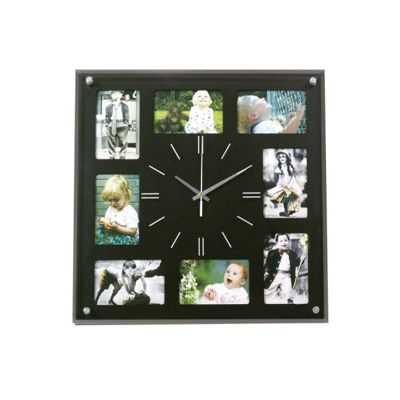 BZ1968-6 - שעון קיר מעץ
