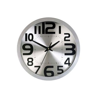 BZ2112-1 - שעון קיר כסוף