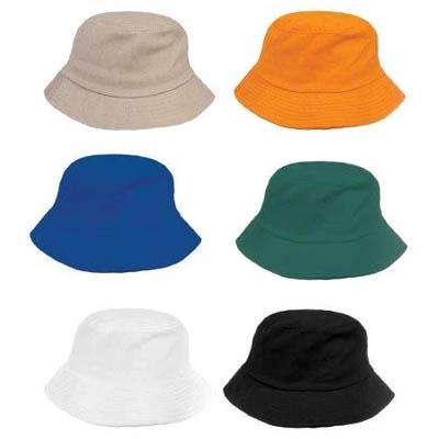 BA2002 - כובע ספארי בצבע אחיד
