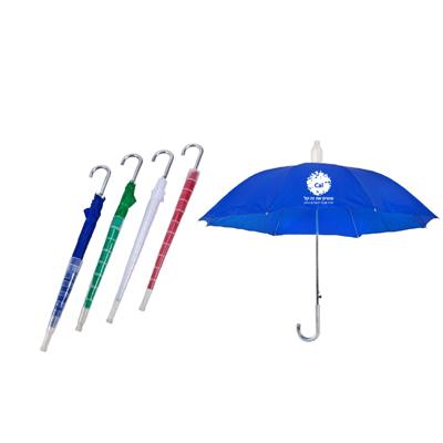 מטריה עם כיסוי פלסטיק קשיח