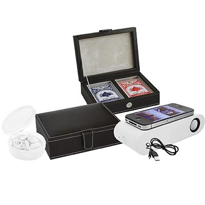 BA9016 - סט מגבר/אוזניות/קופסאת קלפים