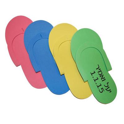 BO2806 כפכפי אצבע צבעוניים
