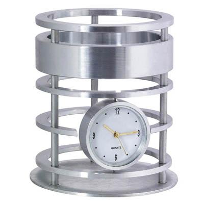 BZ1979 כוס לעטים עם שעון