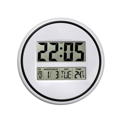 """BZ2519 - """"ביג טיים"""" שעון קיר דיגיטלי"""