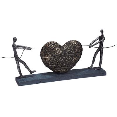 """3770 - פסל """"אהבה במשיכה"""""""