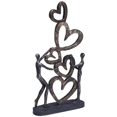 """3773 - פסל """"אהבה באוויר"""""""