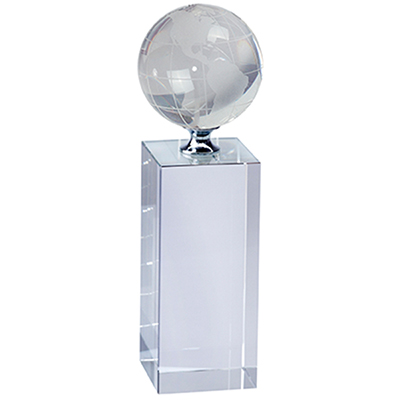 BZ3836 - מעמד זכוכית גלובוס