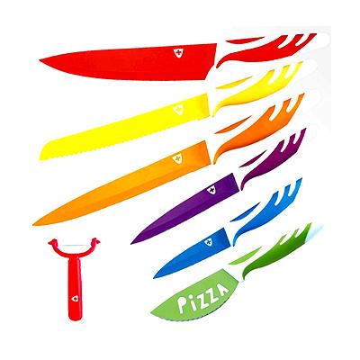 BZ2984 - מארז 7 סכינים קרמיות