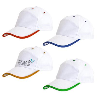 BK2025 - כובע מצחיה 7 פאנלים