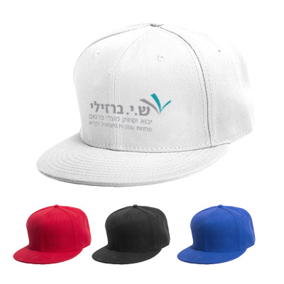 BK2444 - כובע מצחיה ישרה