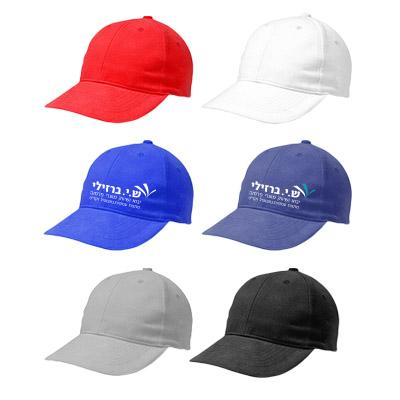 כובע מצחיה 6 פאנלים