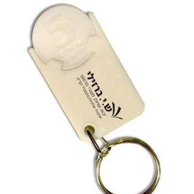 מחזיק מפתחות משחרר עגלות