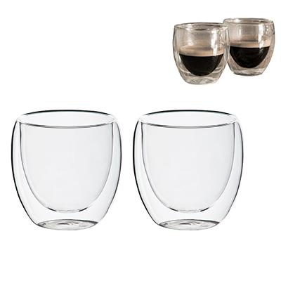 BM8520 - כוס זכוכית דופן כפולה