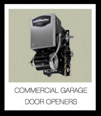 Garage door opener garage door 4 less for Commercial garage door motor