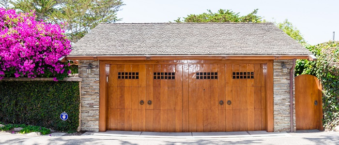 wooden garage door los angeles