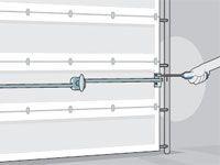 garage door won''t lock - repair tips