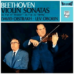 Beethoven Violin Sonatas Oistrakh Oborin