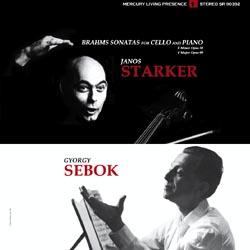 Brahms Cello Sonatas Starker Sebok