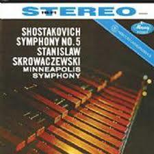 Shostakovich Symphony no. 5 Skrowaczewsky