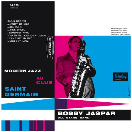 Modern Jazz Au Club Saint Germain Bobby Jaspar