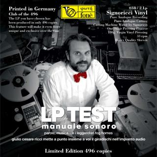Giulio Cezare Ricci Test LP