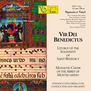LP070 Vir Dei Benedictus