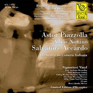LP071 Accardo suona Piazzolla Adios Nonino