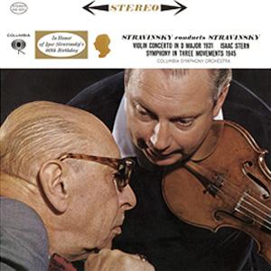 Stravinsky Violin Concerto Stern