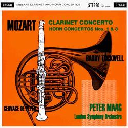 Mozart Concertos Peyer Tuckwell Maag