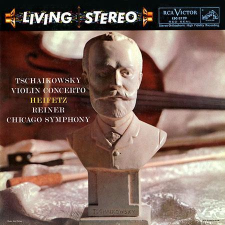 Tchaikovsky Violin Concerto Heifetz Reiner 200g