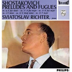 Shostakovich Piano Preludes And Fugues Richter