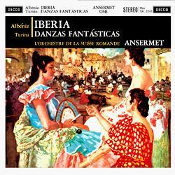 Albéniz Iberia Turina Danzas fantásticas AAA