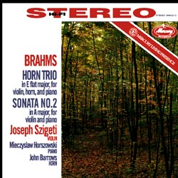 Brahms: Horn Trio, Sonata No. 2 AAA