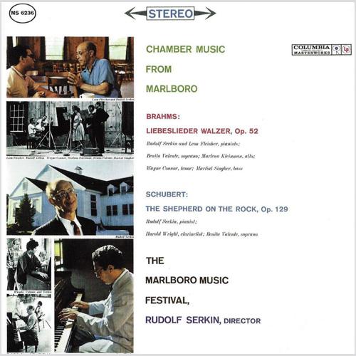 Brahms Schubert Music From Marlboro Festival Serkin AAA