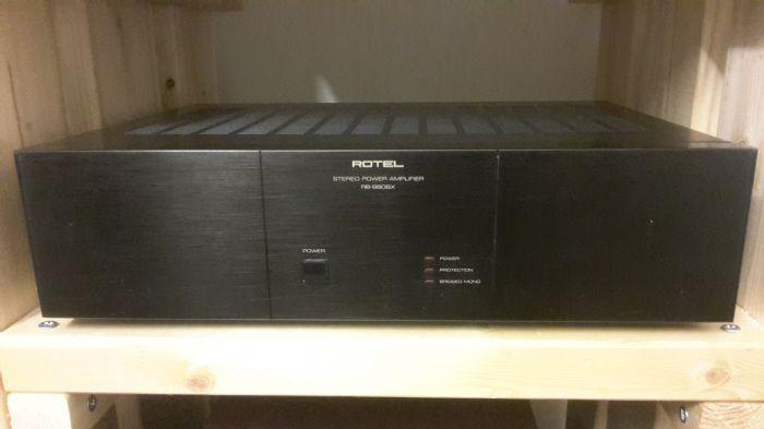 מגבר Rotel RB980BX Power